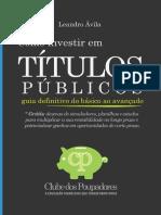 Como Investir em Titulos Publicos - 2018 Leandro Ávila