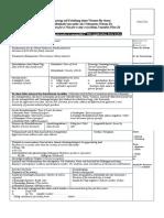 Antragsformular Visa D - Wien