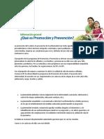 promocion y prevencion investigacion catedra