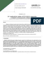 AC conductivity studies of PVA-Al2O3 composites