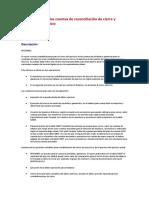 88 Cómo configurar las cuentas de reconciliación de cierre y apertura de Ejercicio