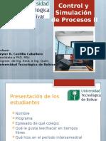 1) Presentación Control y Simulación de Procesos II