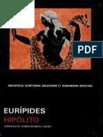 Eurípides - Ἱππόλυτος • Hipólito.pdf