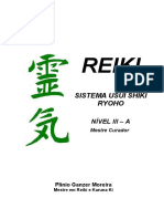 REIKI SISTEMA USUI SHIKI RYOHO NÍVEL III A. Plínio Ganzer Moreira Mestre em Reiki e Karuna Ki. Mestre Curador.pdf