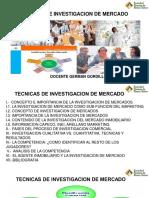 TECNICAS DE INVESTIGACION DE MERCADO SPBR
