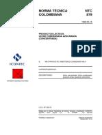 NTC879 Leche condensada Azucarada.pdf