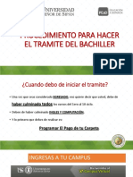 PROCEDIMIENTO PARA HACER EL TRAMITE DEL BACHILLER_sede LIMA