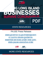 Helping Long Island businesses survive coronavirus