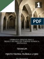 Tehakum i Mjesto Tekfira Musrika u Vjeri - Imam Ebu Muhammed Nedžad Balkan