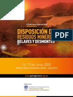 Disposion de Residuos Mineros Peru June 2020