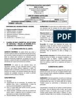 01. EL GÉNERO NARRATIVO - EL CUENTO ( 2 SEMANAS)
