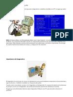 DIAGNOSTICAR UNA PC