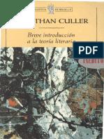 Breve introduccion a la teoria - Jonathan Culler