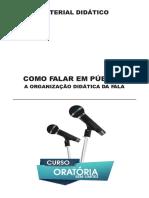 1- A ORGANIZAÇÃO DIDÁTICA DA FALA_2019_compressed