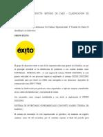 Evidencia de producto Estudio de caso Clasificación de inventarios.