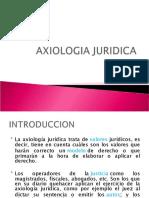 AXIOLOGIA JURIDICA