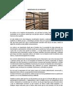 1 ensayo IMPORTANCIA DE LOS ARCHIVOS