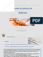 Testeador de Software QA - Unidad 4 - Defectos