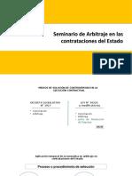 Arbitraje en contrataciones del Estado (mayo 2019)