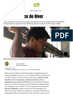 El home office de River