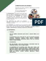 ALIMENTACION SALUDABLE y no saludable.docx
