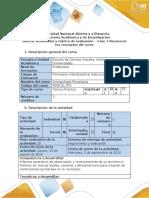 Antropología Guia de actividades y rùbrica de evaluaciòn - Fase 1 - Reconocer los conceptos del curso