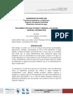 TRATAMIENTO DE AGUA POTABLE Y RESIDUAL CON OZONO GASEOSO. (OZONIZACIÓN) (1).docx