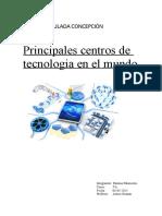 Principales centros de tecnologia en el mundo.doc