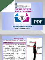 2 TIPOS DE MOTIVACION