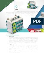 Manual de bomba de infusión MP-60 Español