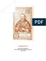 Chapter 12 From The Constitutions to The Transfer of The General Curia To Rome (1579 - 1662)