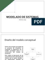 Modelado de sistemas