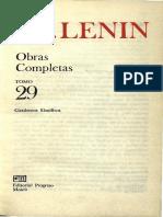 Obras completas. Tomo 29 (Cuadernos filosóficos) - Vladimir I. Lenin.pdf