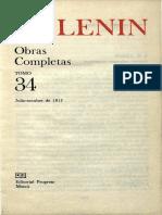 Obras completas. Tomo 34 (julio - octubre 1917) - Vladimir I. Lenin.pdf