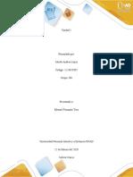 Guía de actividades y rúbrica de evaluación - Reflexión inicial - Identificar entornos, contenidos y actividades a desarrollar.