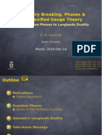 Symmetry Breaking, Phases & Complexified Gauge Theory :