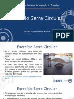 Exercício Serra Circular NR 12