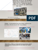 Fundamentación musical en ritmos colombianos para niños de.pptx