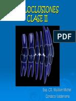 Maloclusiones clase II