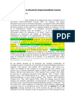 traducción Desarrollo de la articulación temporomandibular humana.docx