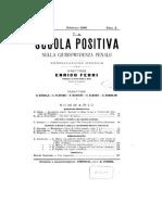 fevereiro - la scuola della giurisprudenza penale 1898