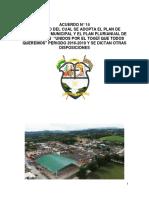 Plan de desarrollo Togui  2016 - 2019