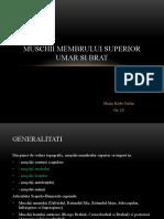 Biomecanica Membru Superior - [PDF Document]