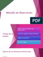 Métodos de Observación2