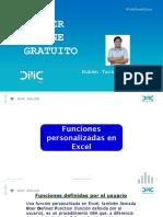 Macros en Excel con VBA Capacitación Online