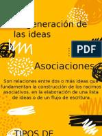 Generacion de las ideas