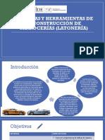 Herramienta y maquinado de reconstrucción de carrocerias