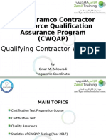 ZHIIT - Contractor Workforce Qualification Assurance Program