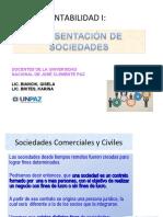 Sociedades Comerciales y Civiles