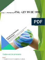 LEY AMBIENTAL –LEY 99 DE 1993.pptx